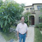 Vicente, el vecino que sueña con un huerto comunal