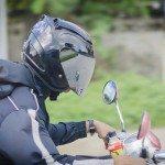 Andar en moto con seguridad