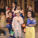 Trick or treating en Ciudad Celeste