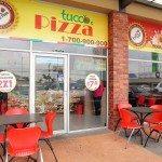 Una pizza muy tuca en La Joya