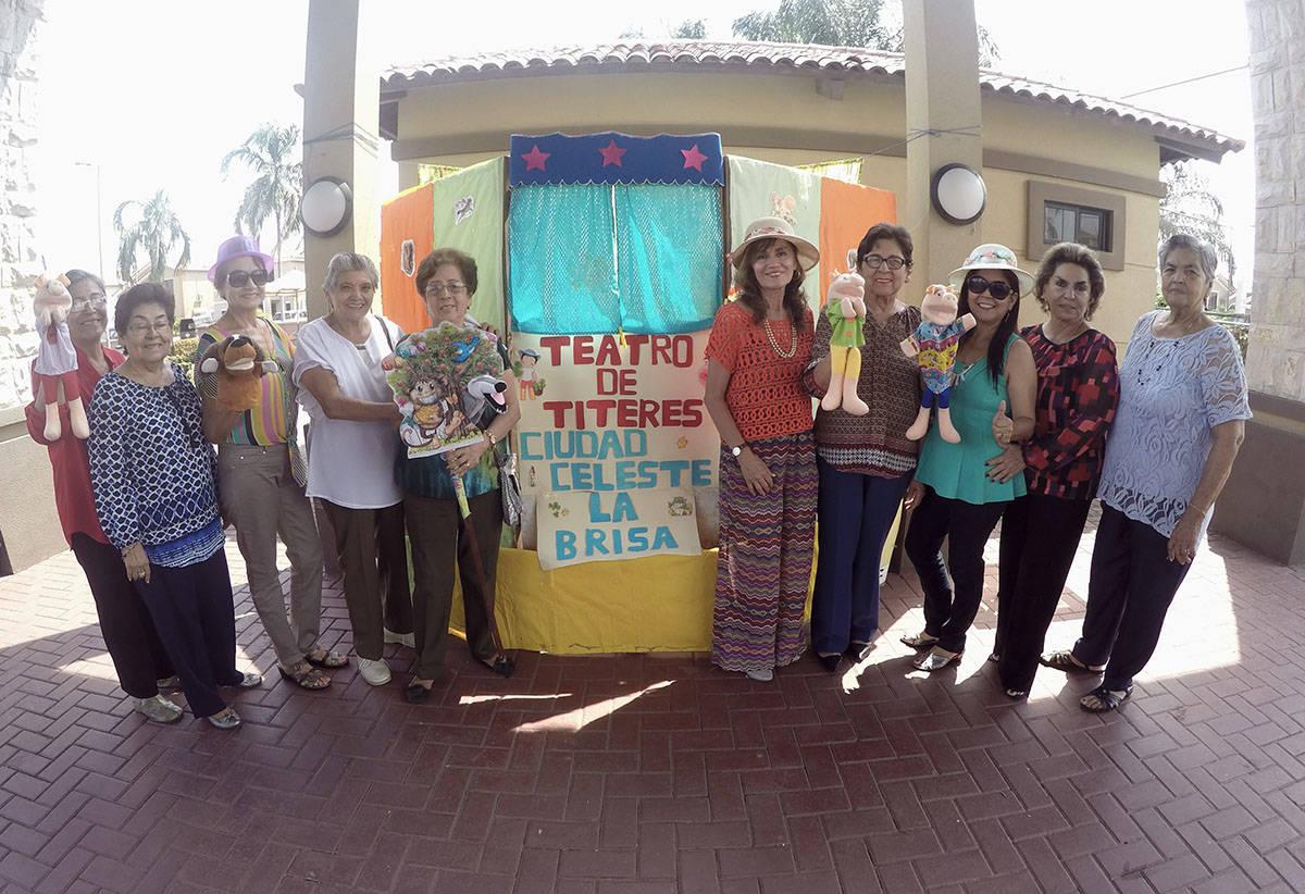 Show de títeres en La Brisa