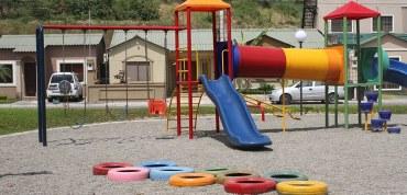 En Murano, los vecinos les regalan un parque a los niños