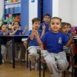 Los alumnos de felices de Educamundo