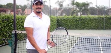 Francisco Marazita y el placer de jugar tenis como los campeones