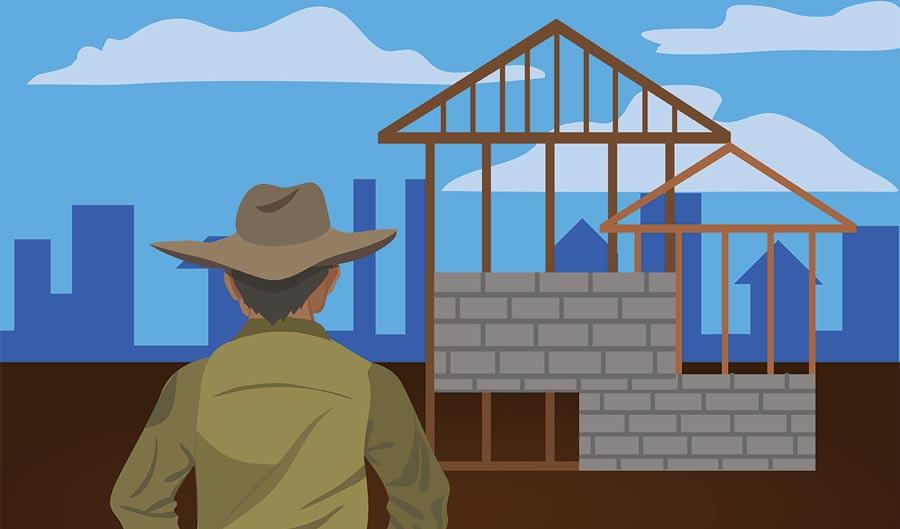 Una máquina para construir casas, una máquina para dar trabajo