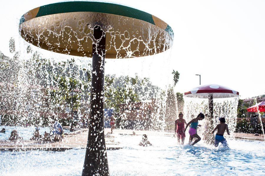 Cada una de las urbanizaciones cuenta con piscinas infantiles
