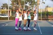 La mejor patinadora artística del Ecuador, da clases en Doral
