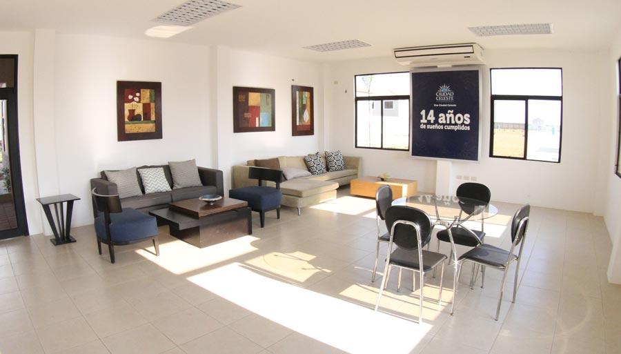 En algunas urbanizaciones como en La Arboleda, hay dos salas VIP