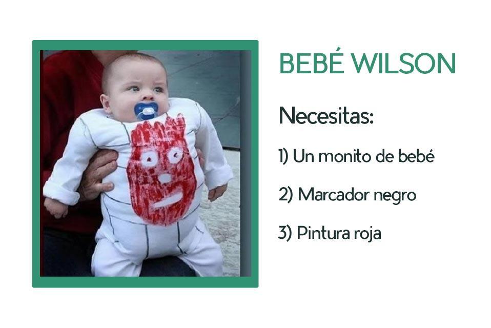 Disfraz de bebé Wilson (película El naufrago))