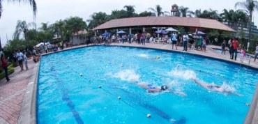 Las primeras competencias de natación en Daule comenzaron en La Joya