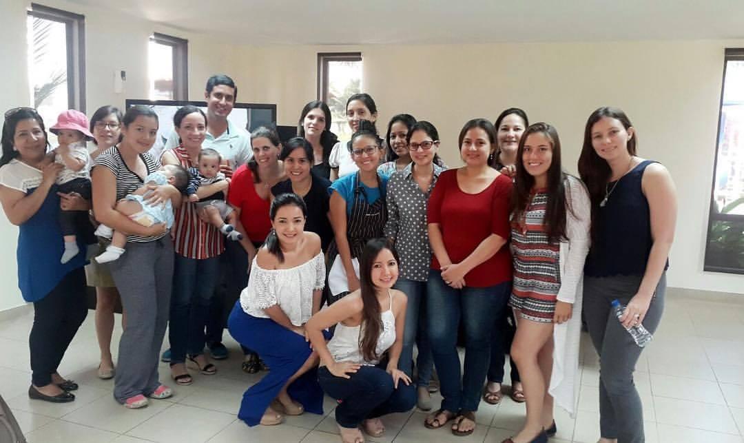 Daniela Almeida dicta talleres de alimentación infantil en su hogar de Ciudad Celeste