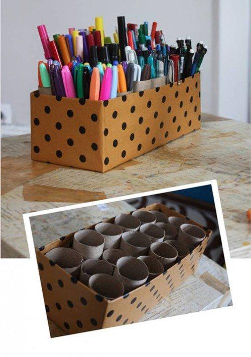 Organizador de lápices y plumas